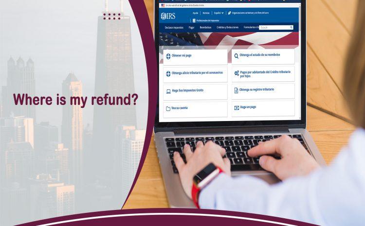 Where is my refund?